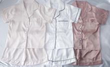 Load image into Gallery viewer, Children's Satin Short Pyjama Set
