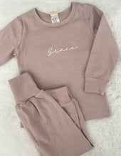 Load image into Gallery viewer, Personalised Kids Loungewear Set
