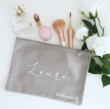 Load image into Gallery viewer, Personalised Name Make Up Bag
