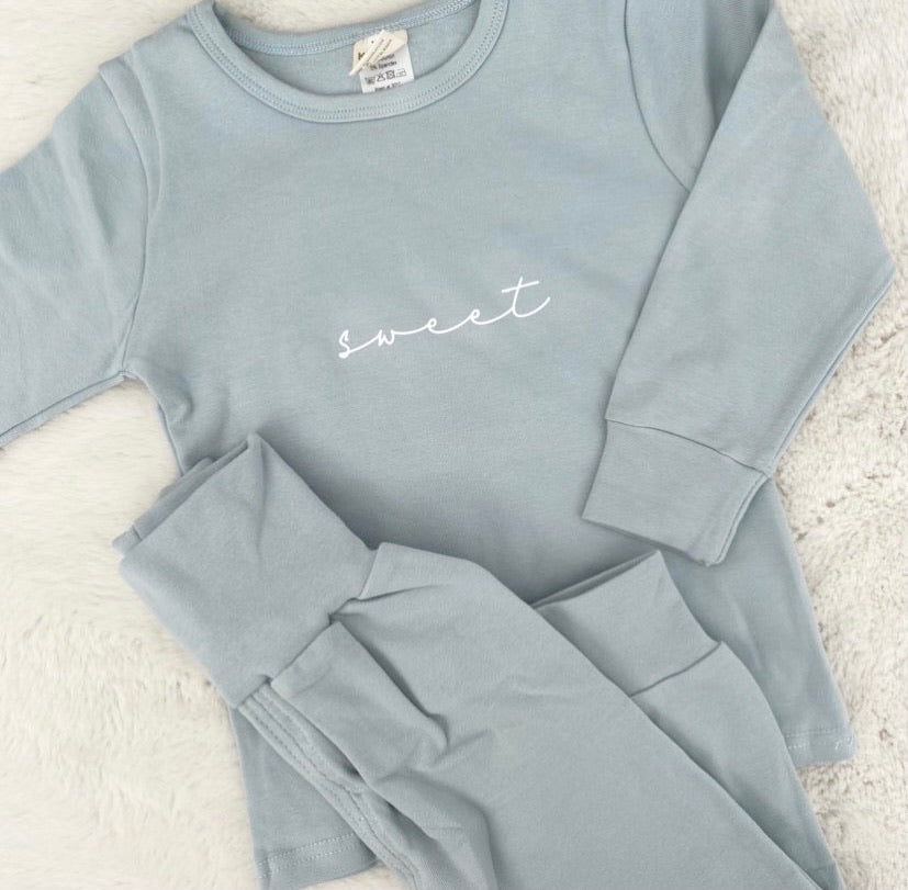 Personalised Kids Loungewear Set