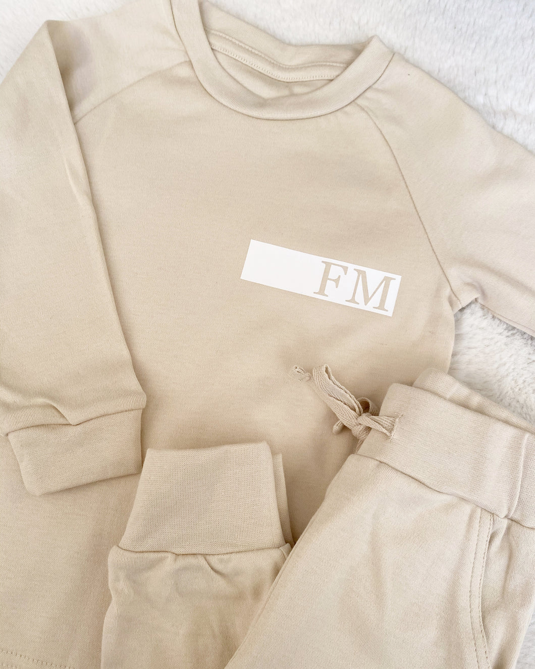 Monogram Band Loungewear Set