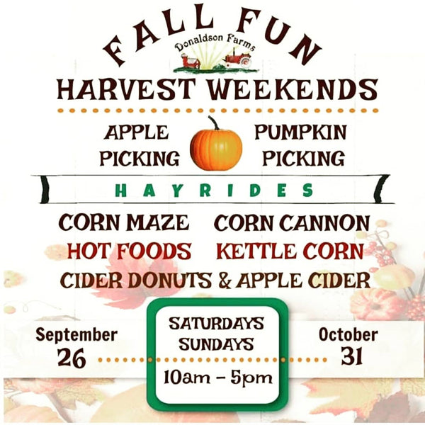 Donaldson Farms Harvest Weekends