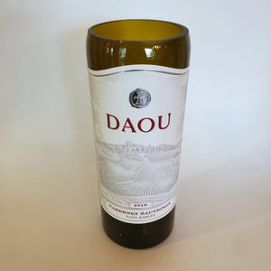 Daou Cabernet Sauvignon 2018 Hand Cut Upcycled Wine Bottle Candle - Choose Your Scent