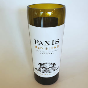 Paxis Red Blend Hand Cut Upcycled Wine Bottle Candle - Choose Your Scent
