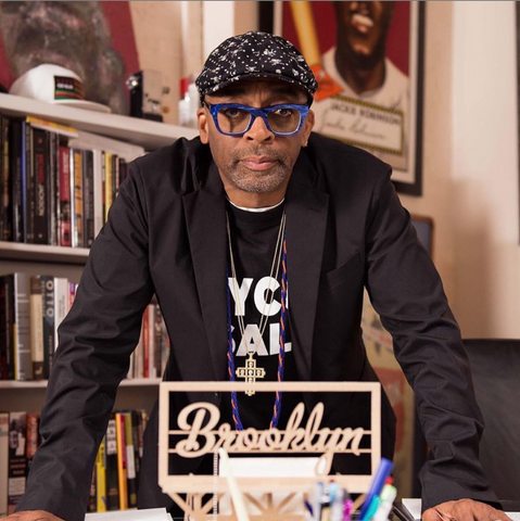 Spike Lee with Boundless Brooklyn model kit