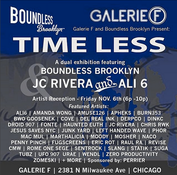 Timeless Boundless Brooklyn Galerie F