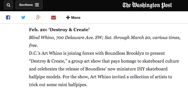 Boundless Brooklyn Washington Post