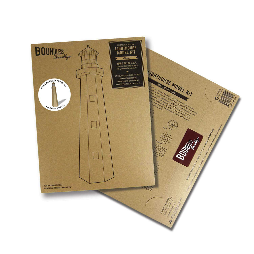 Boundless Brooklyn Lighthouse Model Kit — FREE U S  Shipping
