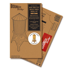 Boundless Brooklyn Water Tower Model Kit (Small)