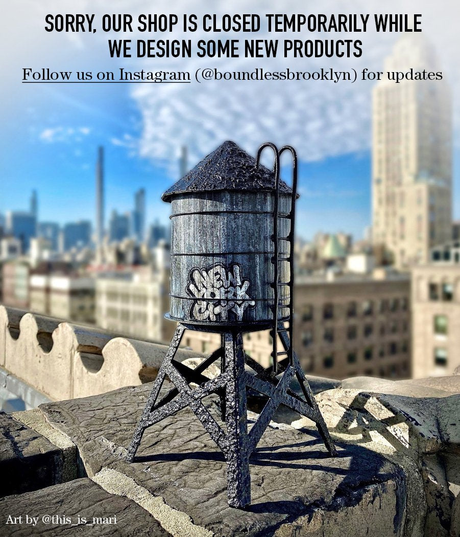 Boundless Brooklyn® Shop Closed Temporarily While We Design New Products