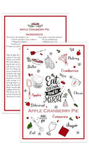 Load image into Gallery viewer, Recipe Kitchen Towels - Set of Two - Select Styles