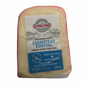 Farmstead Fontina Firm Ripened Cheese - 170g
