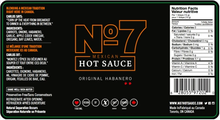 Load image into Gallery viewer, No7 Hot Sauces