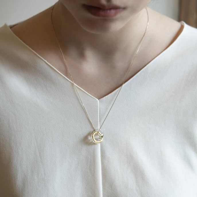 Gold Leaf Series: Eternal Necklace