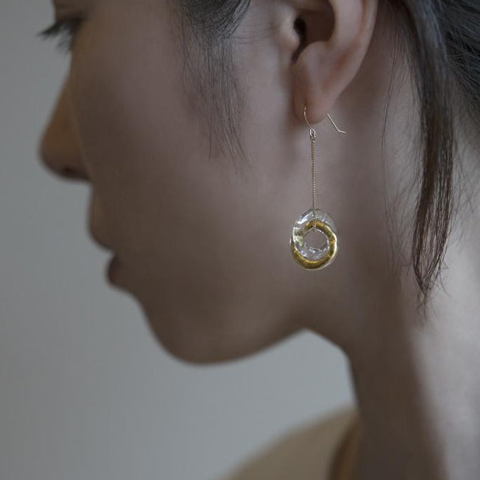 Gold Leaf Series: Eternal Earrings