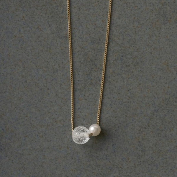 Pearl Series: Snow Pearl Necklace