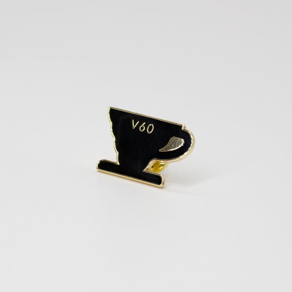 Hario V60 Pin Badge