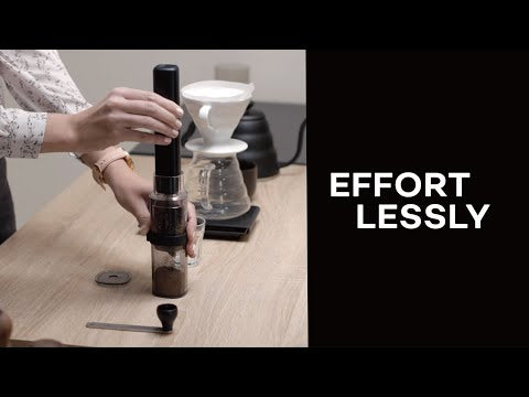 Set: Electric Hand Coffee Grinder