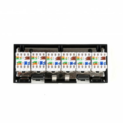 6 Port Cat6 Gigabit Ethernet Module