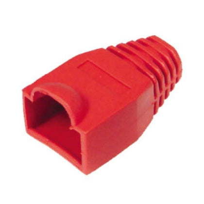 RJ45 Boot Red PK100