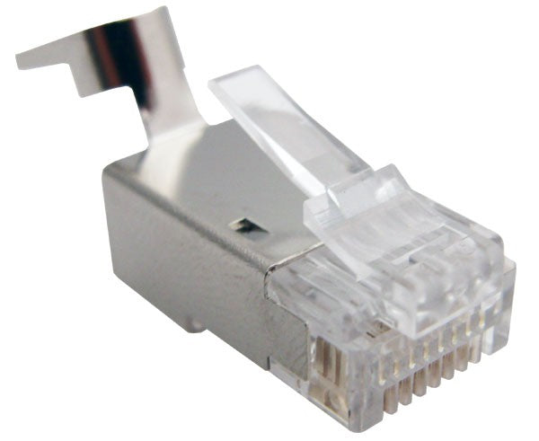 RJ45 Crimp Plug 8P8C Cat6A Sheilded (100PK)