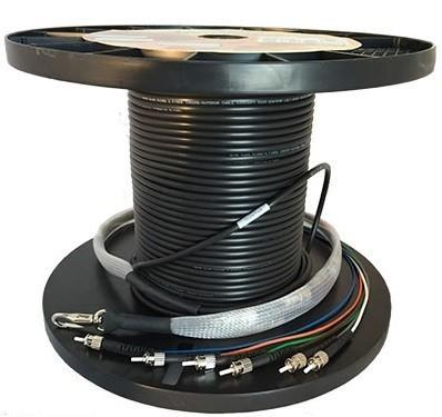 6 Fibre OM3 ST-ST Indoor/Outdoor Cable