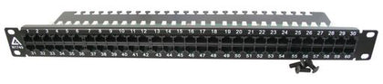 "1RU 60X CAT3 PORTS 19"" PATCH PANEL"