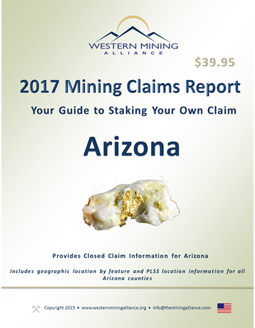 2017 Mining Claim Report Arizona