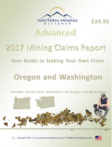 2017 Mining Claim Report OR-WA