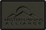 Patch, Western Mining Alliance, OD Green
