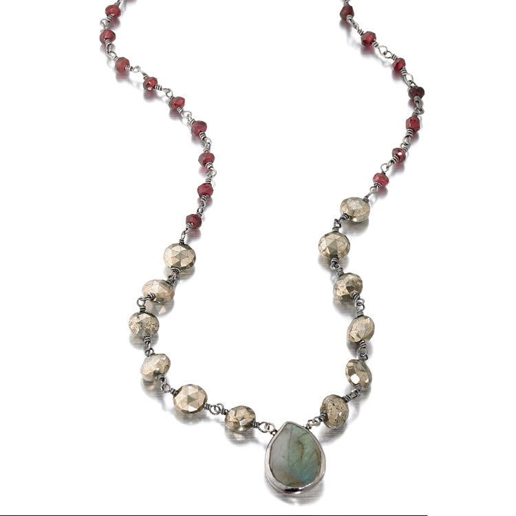 The Ara Semi-Precious Necklace