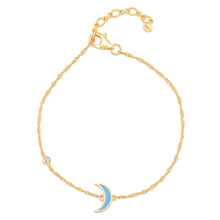 Load image into Gallery viewer, Delicate Enamel Charm Bracelet