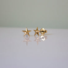 Load image into Gallery viewer, Pointed Star Stud Earring