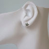 Load image into Gallery viewer, Flat Star Stud Earring
