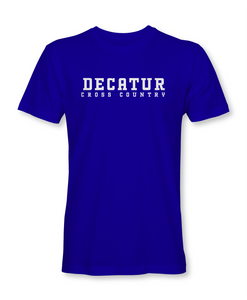 Decatur Cross Country Tee