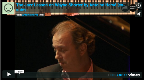 VOD: The Jazz Lesson - Wayne Shorter - streaming with english subtitles|VOD: La leçon de Jazz sur Wayne Shorter en streaming