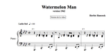 WATERMELON MAN : Jazz Piano Lesson by Antoine Herve|WATERMELON MAN : cours de piano jazz par Antoine Hervé