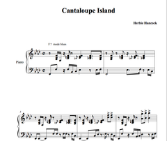 CANTALOUPE ISLAND : piano jazz lesson by Antoine Herve|CANTALOUPE ISLAND : cours de piano jazz par Antoine Hervé