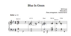BLUE IN GREEN - Jazz Piano lesson|BLUE IN GREEN - cours de piano jazz