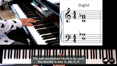 Compil.11 Harmony jazz lessons|Compil. 11 COURS D'HARMONIE JAZZ au piano