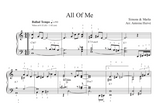 Arrangement de All Of Me par Antoine Hervé