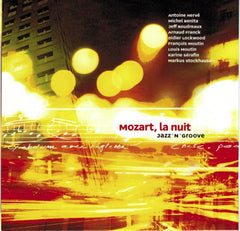 MOZART, BY NIGHT - cross-over album by Antoine Herve with choir and jazz quintet|MOZART, LA NUIT - album cross-over d'Antoine Hervé avec choeur et jazz quintet