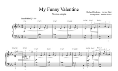 My Funny Valentine - Jazz Piano Lesson|My Funny Valentine - cours de piano jazz