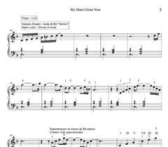 MY MAN'S GONE NOW - Piano Lesson by Antoine Herve|MY MAN'S GONE NOW - Cours de Piano par Antoine Hervé