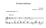 St JAMES INFIRMARY - Piano Lesson by Antoine Herve|St JAMES INFIRMARY - Cours de Piano par Antoine Hervé