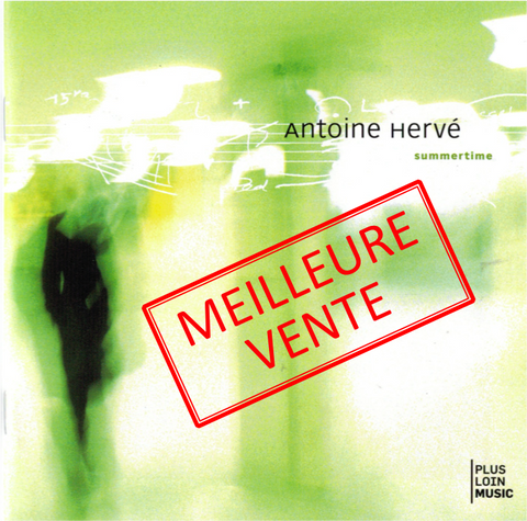 SUMMERTIME trio album with François and Louis Moutin|SUMMERTIME - album d'Antoine Hervé en trio avec François et Louis Moutin
