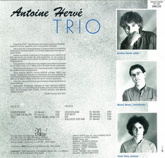 TRIO - Album with Michel Benita bass and Peter Gritz  drums|TRIO - album avec Michel Benita Cb-Peter Gritz Batterie