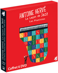 "The Jazz Lesson BOX SET  - ""THE PIANISTS""- 6 DVDs