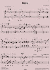 CHIMÈRE for solo piano|CHIMÈRE - partition pour piano solo (pdf)