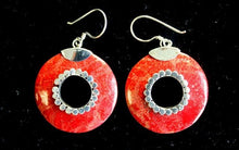 Load image into Gallery viewer, Coral Style Silver Earrings - Do-nuts